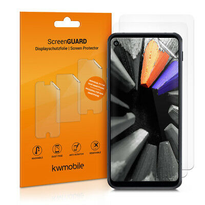 Kwmobile Set Of 3 Mobile Cell Phone Screen Protectors For LG Q70 • 4.99£
