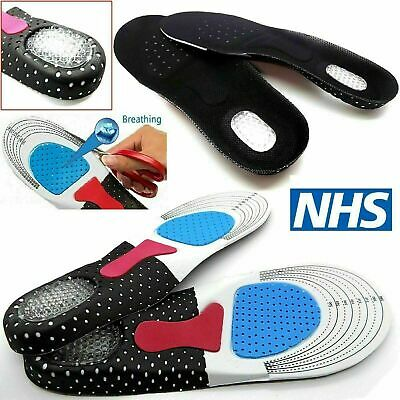 £5.99 • Buy UK Orthotic Insoles For Arch Support Shoes Insoles Boots Inner Soles Size 3-11