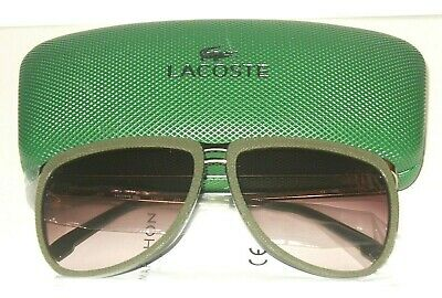 Lacoste  Sunglasses In Olive With Grey Smoke Gradient In Case • 43.75£