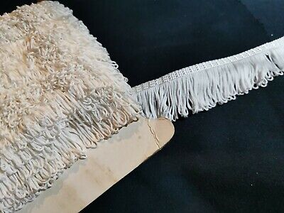 5 Metres -  - BRAID Fringe Lampshade Costume Upholstery Gimp Trim 40mm Wide Xx • 2.99£
