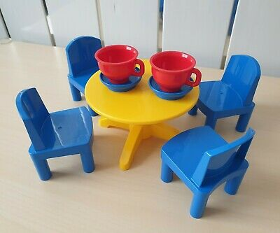 £28 • Buy Vintage Lego Duplo Large Dolls Kitchen Table And Chairs