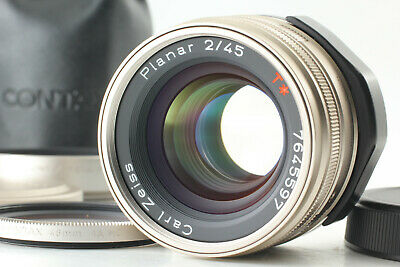 $ CDN557.03 • Buy 【MINT 】 Contax Carl Zeiss Planar 45mm F/2 T * Lens AF For G1 G2 Case From Japan