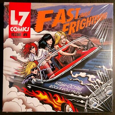 Cd - L7 - Fast And Frightening - Easy Action Sealed Original Pressing Double Cd • 17.69£