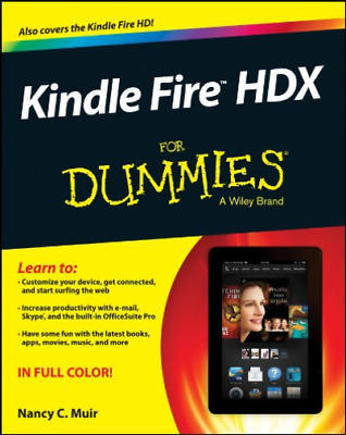 AU38.54 • Buy Muir-Kindle Fire HDX For Dummies (UK IMPORT) BOOK NEW