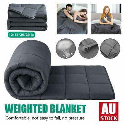 AU59.99 • Buy Weighted Blanket Heavy Gravity Deep Relax 5/7/9/11KG Adult Kid Double Queen