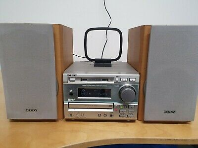 Sony DHC-MD373 Minidisc CD Player AM/FM Radio Mini HiFi - Fully Tested Working • 69.99£