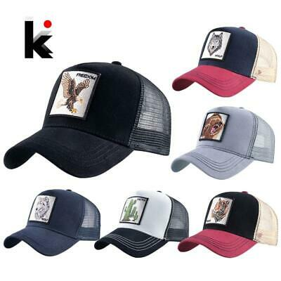 Fashion Animals Embroidery Baseball Caps Men Women Snapback Hip Hop Hat Summer  • 7.23£