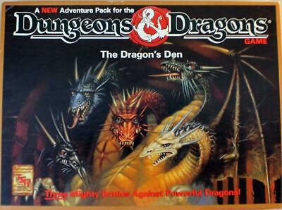 AU365.30 • Buy TSR Boardgame Dungeons & Dragons Board Game - The Dragon's Den SW