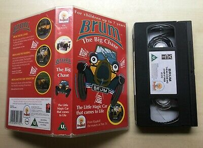 £39.99 • Buy Brum - The Big Chase - Vhs Video