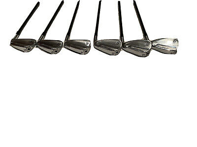 Taylormade P790 Irons Mamiya  Recoil 780/f4  Black Iron Iron Smac Wrap Set 5/pw • 655£