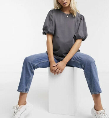 AU30 • Buy ASOS Maternity T Shirt With Puff Sleeve Size 14