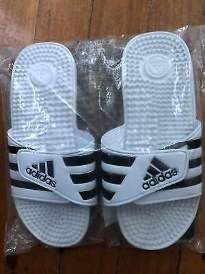 AU20 • Buy Adidas Adissage Slides Unisex White US8 - Brand New In Bag