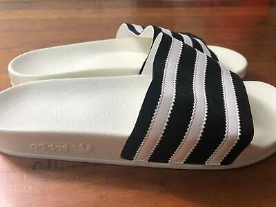 AU20 • Buy Adidas White Unisex Slides Made In Italy - US9 - Brand New