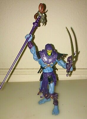 $15 • Buy 2001 Mattel Skeletor W/ Accessories Figure  MOTU Masters Of The Universe
