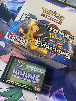 AU52 • Buy Pokemon XY Evolutions Opened Booster Box 360 Cards / All Holos/Reverse Included