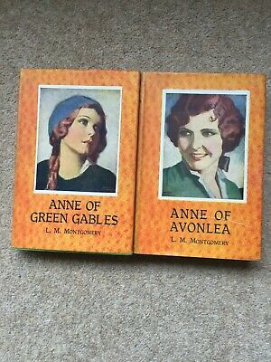 Anne Of Green Gables And Anne Of Avonlea (L.M.Montgomery - 1943) With Dustcovers • 8£