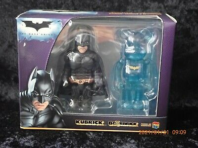 $14.99 • Buy Medicom Kubrick Bearbrick Set Batman The Dark Knight Be@rBrick Set DC Blue