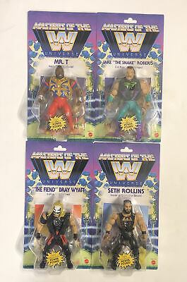 $109.99 • Buy WWE Masters Of The Universe Series 4 Set Of 4 Action Figures THE SNAKE, MR T NIP