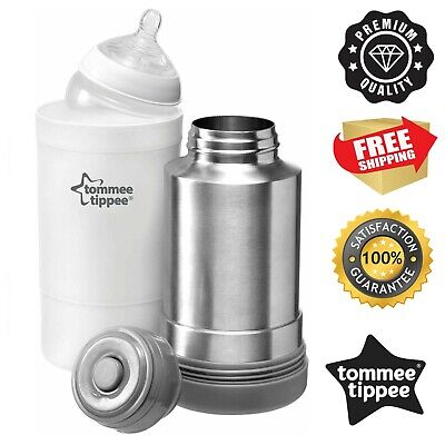 £12.99 • Buy Tommee Tippee Closer To Nature Baby Bottle Food Warmer Flask Compact Travel New