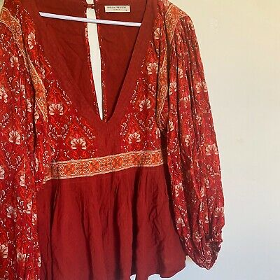 AU100 • Buy Spell And The Gypsy Jewel Blouse Xl