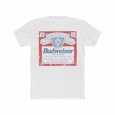 $ CDN19.93 • Buy Budweiser Beers Classic Vintage Style Beer T-Shirt Funny Vintage Gift For Men