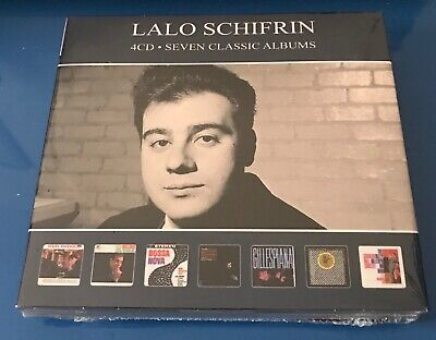 LALO SCHIFRIN - SEVEN CLASSIC ALBUMS  - 4 CD Set - New & Sealed • 7.99£