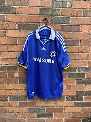 Vintage Rare CFC Chelsea  Home Adidas Football Shirt Jersey 2008-2009 Large (L) • 19.99£