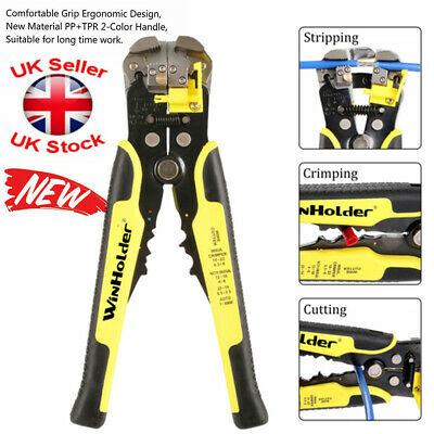 £9.97 • Buy Automatic Cable Wire Striper Cutter Crimper Stripping Pliers Terminal Tool UK
