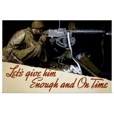$ CDN40.16 • Buy Let's Give Him Enough And On Time Poster Art Print,  Home Decor