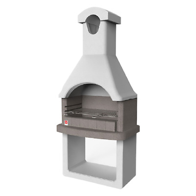 £607.91 • Buy Columbia Refractory Concrete Masonry Barbecue 88x58x197.3 Cm With Grill