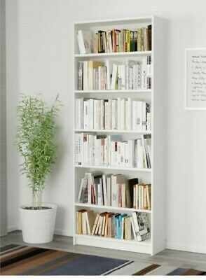 VGC Ikea Billy White Bookcase/Shelving Unit With Adjustable Shelves • 20£