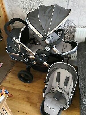 ICandy Peach Truffle Double Pushchair • 320£