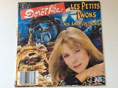 "$ CDN5.30 • Buy Dorothee Les Petits Ewoks **star Wars** French 7"" Picture Cover Only"