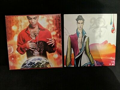 2 X Promo CD - Prince 20 Ten / Planet Earth -  2 X 10 Track CD Albums New Rare • 3.99£