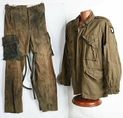 $1200 • Buy WW2 101st Airborne M43 Jacket & M43 Trousers Used In Band Of Brothers Episode 5!