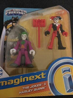 Imaginext Brand New And Sealed The Joker And Harley Quinn Figures. • 3.99£