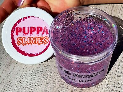 AU18.07 • Buy Pink Passion Supper Clear Slime, Clear Slime With Glitter,Creative & Trending