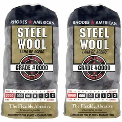 $18.99 • Buy Homax Products 0000 Super Fine Finish Steel Wool Pad 12 Per Package TV713206 (2