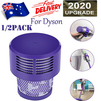 AU17.75 • Buy Genuine For DYSON Filter V10 Cyclone Animal Absolute Total Clean Washable 1 2pcs