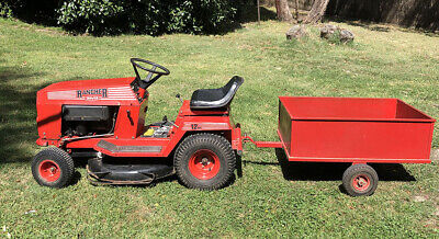 AU665 • Buy Rover Rancher Ride On Lawn Mower 12hp With Trailer