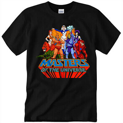 $16.99 • Buy NEW! Masters Of The Universe Team Of Heroes T Shirt Unisex Cotton Gift Tee S-3XL