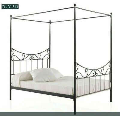 $ CDN761.22 • Buy Twin Full Queen Metal Bed Frame Iron Foundation Headboard Footboard Bedroom