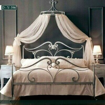 $ CDN780.25 • Buy Twin Full Queen Metal Bed Frame Iron Foundation Headboard Footboard Bedroom