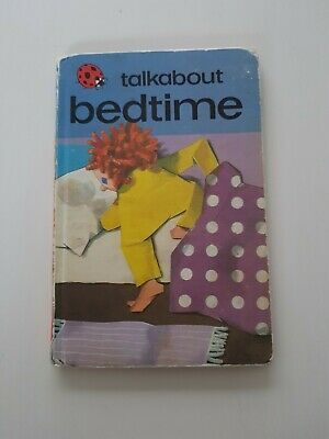 Vintage Ladybird 'Talkabout Bedtime', Collectable Nostalgic Children's Book • 6£