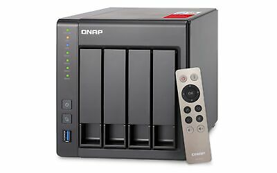 $ CDN1958.13 • Buy QNAP TS-451+-2G 8TB (4 X 2TB WD RED PRO) 4 Bay NAS Unit With 2GB RAM