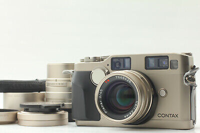 $ CDN2404.82 • Buy 【MINT W/ 2 Lens 】 Contax G2 Film Camera 45mm 90mm Lens W/ Strap Hood From JAPAN