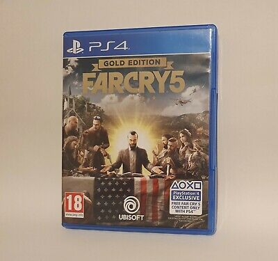 AU36.05 • Buy Farcry 5 Gold Edition Ps4 Playstation4 Game Mint Condition Disc