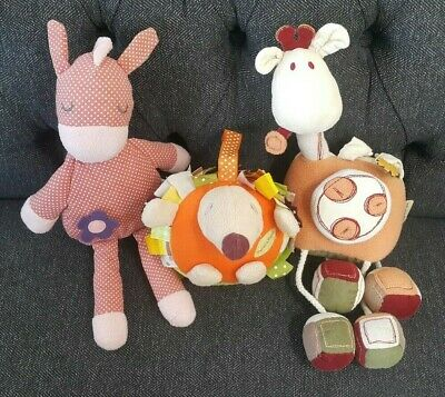 Mamas And Papas Soft Toy Bundle  • 14.99£