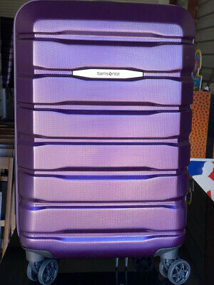 View Details Samsonite Tech 2.0 1 Piece Luggage Suitcase - Purple • 55.00$