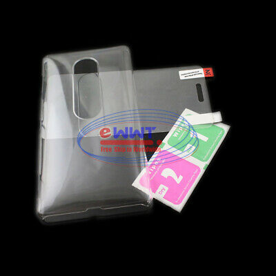 AU7.84 • Buy FREE SHIP For Sony Xperia XZ2-Premium 5.8  Clear Crystal Cover Case+Film WQCF859